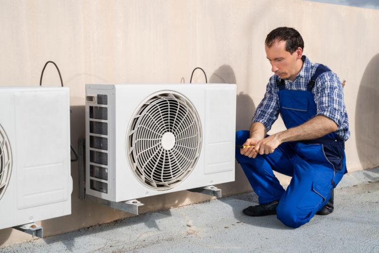 Installation de conduits de ventilation